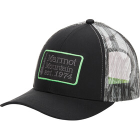 Marmot Retro Gorra de Camionero, black/racing stripes